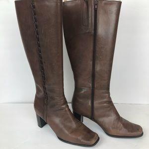 St John's Bay Rhoda Dark Brown Knee High Boots